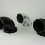 Aluminum/Motorcycle Elbow fitting for filter