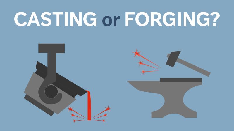 Casting or Forging